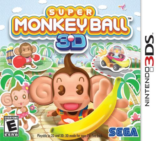 Super Monkey Ball 3D Cover Artwork