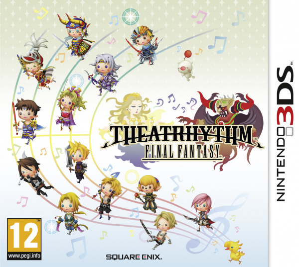 Theatrhythm: Final Fantasy Cover Artwork