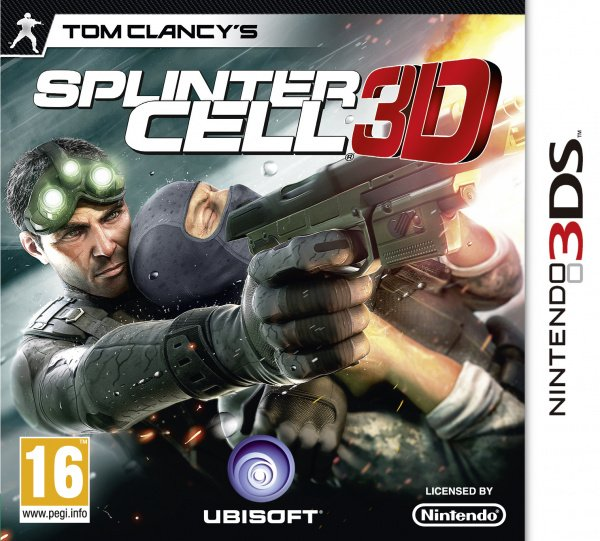 Tom Clancy's Splinter Cell 3D Cover Artwork