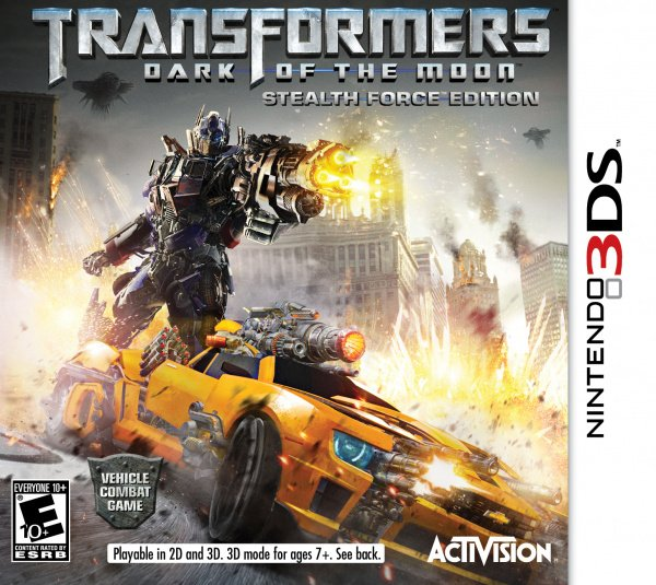 Transformers: Dark of the Moon - Stealth Force Edition Cover Artwork