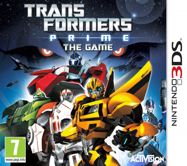 Transformers Prime Cover Artwork