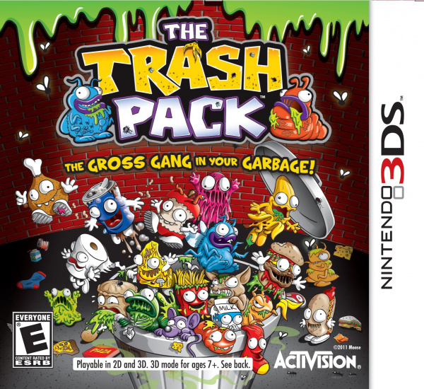 The Trash Pack Cover Artwork