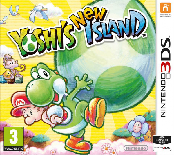 Yoshi's New Island Cover Artwork
