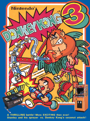 Donkey Kong 3 Cover Artwork