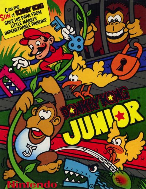 Donkey Kong Jr. Cover Artwork