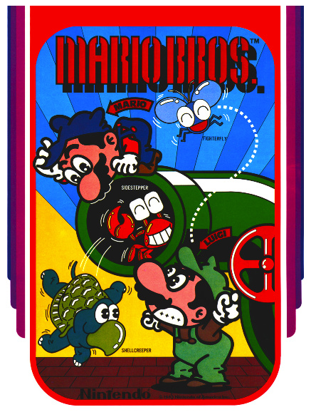 Mario Bros. Cover Artwork