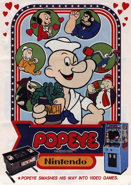 Popeye Cover Artwork