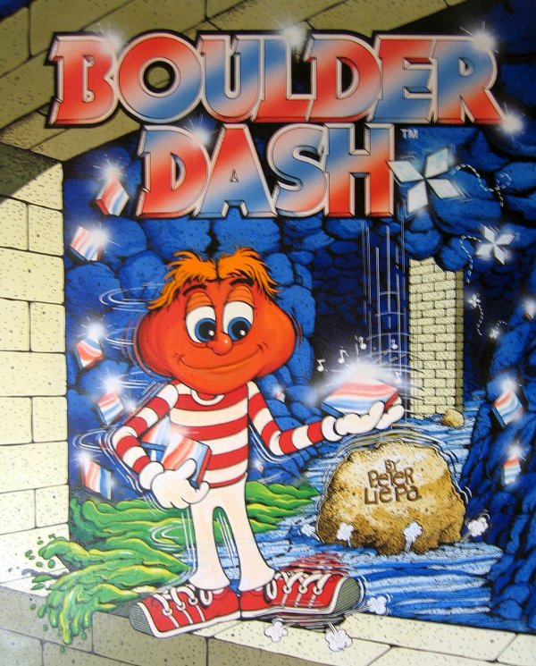 Boulder Dash Cover Artwork