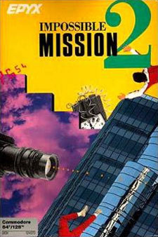 Impossible Mission II Cover Artwork