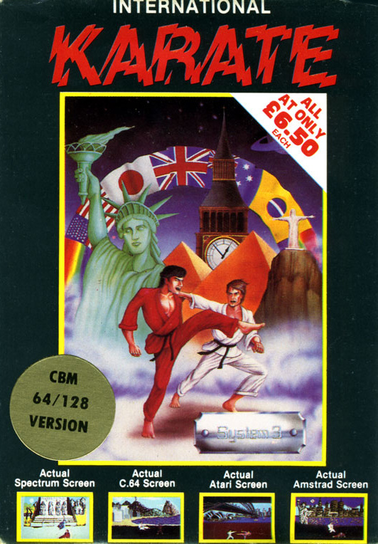 International Karate Cover Artwork