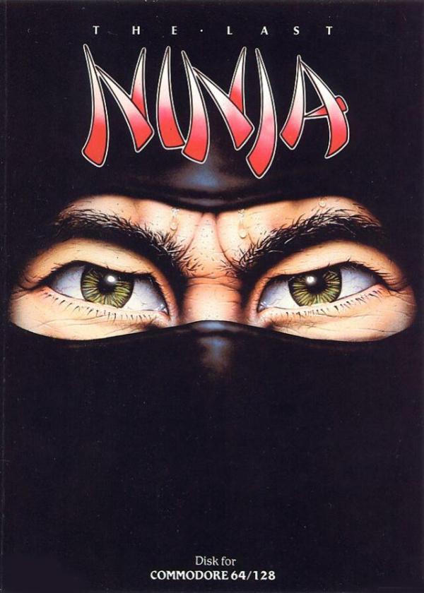 The Last Ninja Cover Artwork