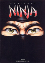 The Last Ninja Cover (Click to enlarge)
