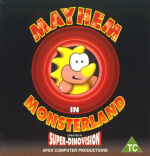 Mayhem in Monsterland Cover (Click to enlarge)