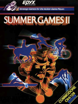 Summer Games II Cover Artwork