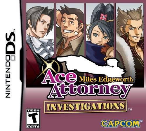Ace Attorney Investigations: Miles Edgeworth Cover Artwork