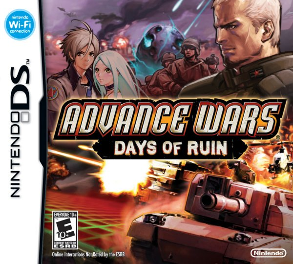 Advance Wars: Days of Ruin Cover Artwork
