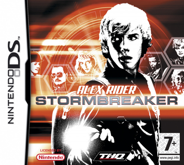 Alex Rider: Stormbreaker Cover Artwork