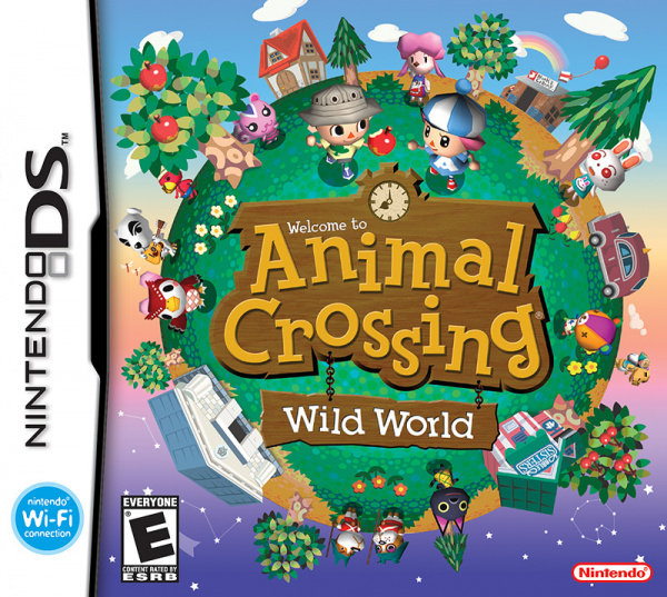 Animal Crossing: Wild World Cover Artwork