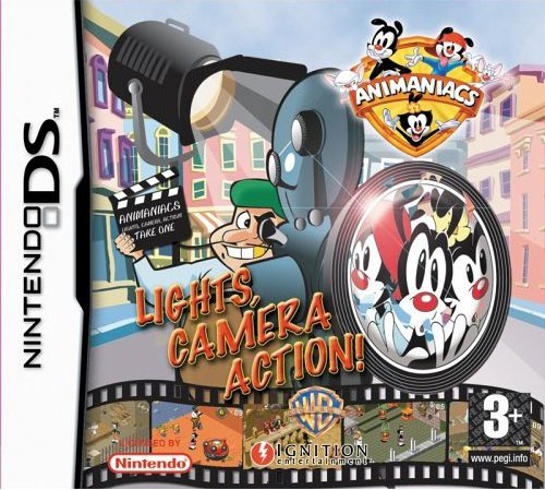 Animaniacs: Lights, Camera, Action! Cover Artwork