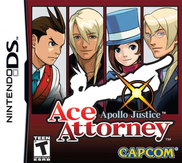 Apollo Justice: Ace Attorney Cover Artwork