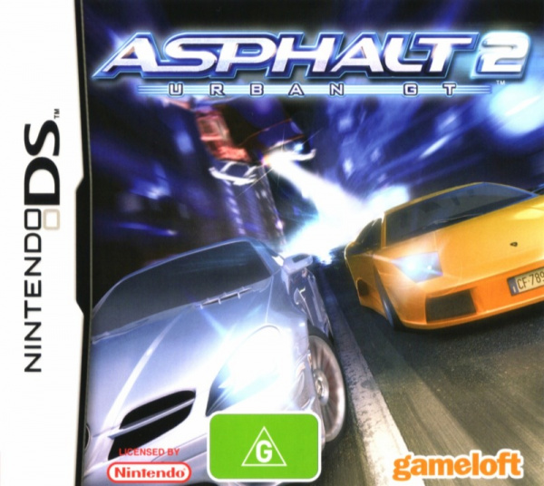 Asphalt 2: Urban GT Cover Artwork