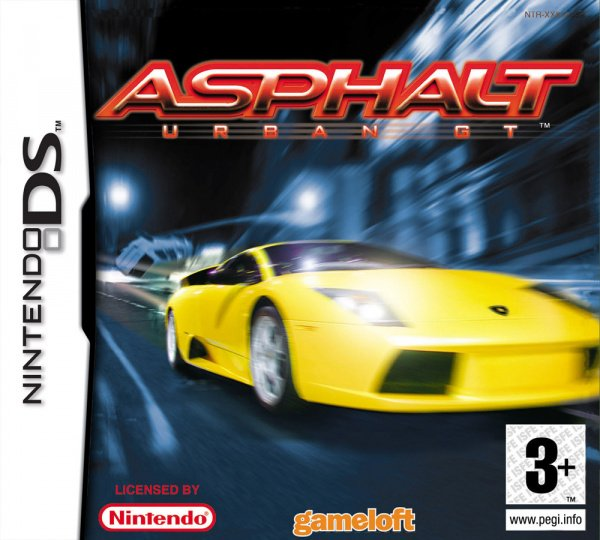 Asphalt: Urban GT Cover Artwork