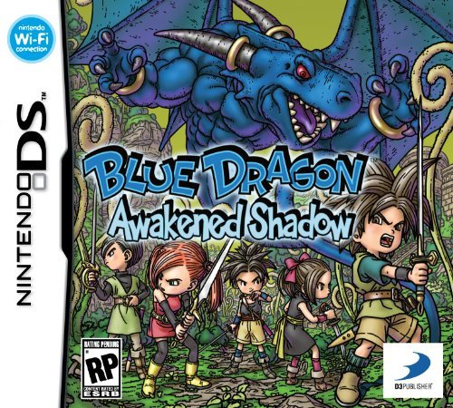 Blue Dragon: Awakened Shadow Cover Artwork
