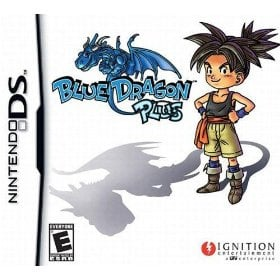 Blue Dragon Plus Cover Artwork