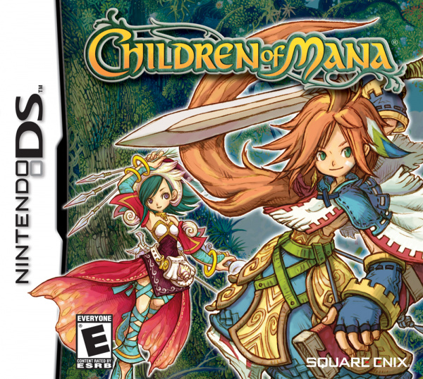 Children of Mana Cover Artwork