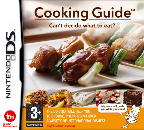 Nintendo ds game cooking guide for sale in ballyfermot, dublin.