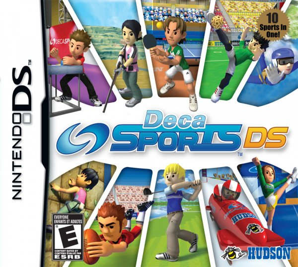 Deca Sports DS Cover Artwork