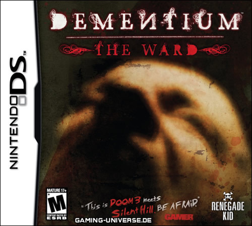 Dementium: The Ward Cover Artwork