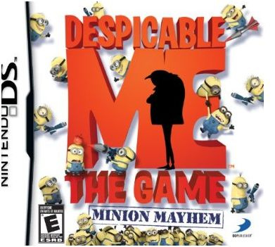Despicable Me: The Game - Minion Mayhem Cover Artwork