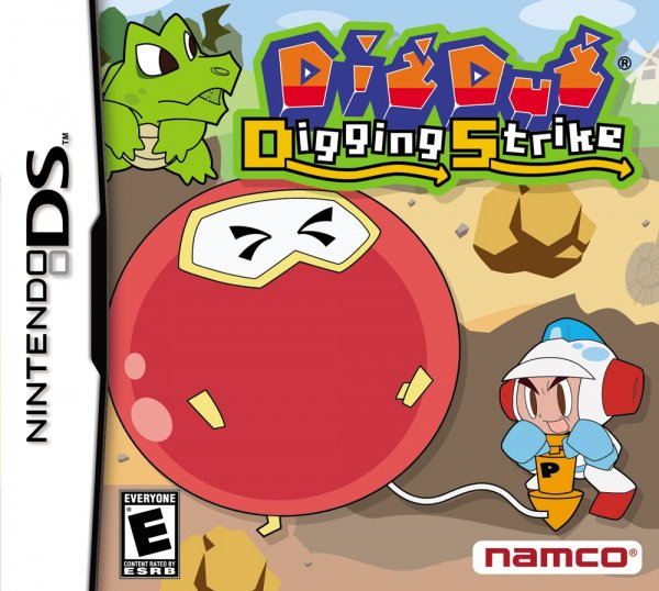 Dig Dug Digging Strike Cover Artwork