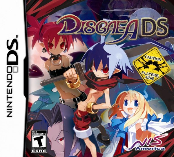 Disgaea DS Cover Artwork