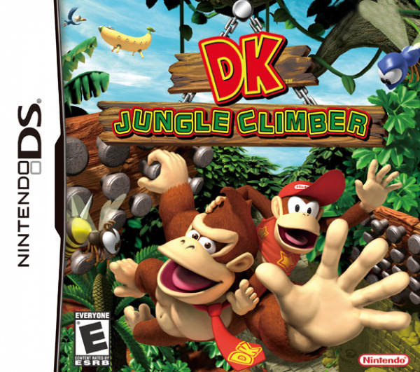 DK: Jungle Climber Cover Artwork