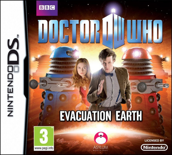 Doctor Who: Evacuation Earth Cover Artwork