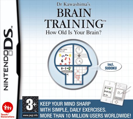 Dr. Kawashima's Brain Training: How Old is Your Brain? Cover Artwork