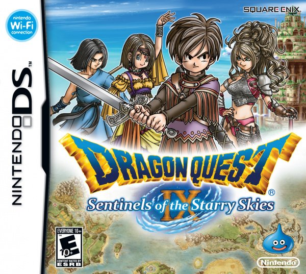 Dragon Quest IX: Sentinels of the Starry Skies Cover Artwork
