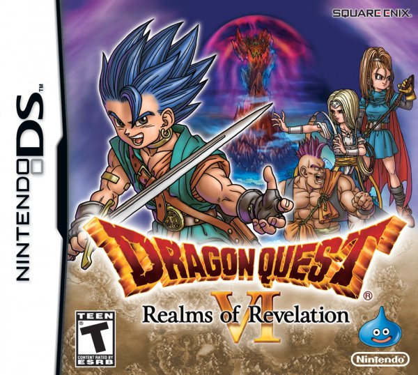 Dragon Quest VI: Realms of Revelation Cover Artwork