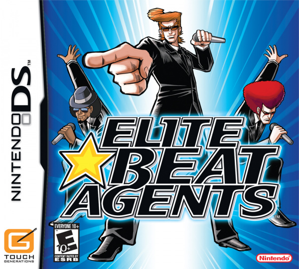 Elite Beat Agents Cover Artwork