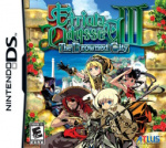 Etrian Odyssey III: The Drowned City Cover (Click to enlarge)