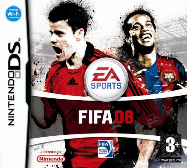 FIFA 08 Cover Artwork