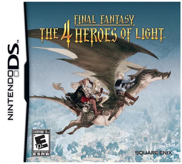 Final Fantasy: The 4 Heroes of Light Cover Artwork
