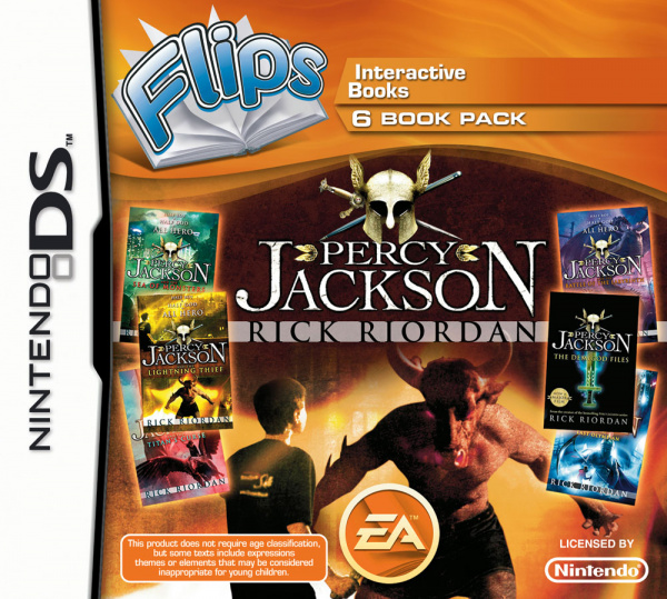 Flips: Percy Jackson Cover Artwork