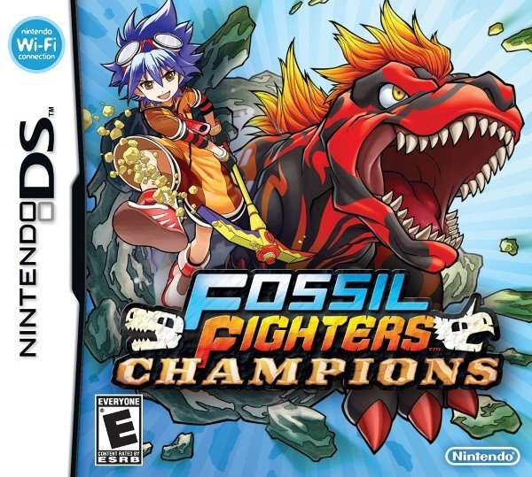 Fossil Fighters: Champions Cover Artwork