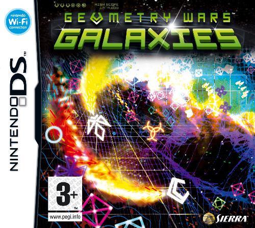 Geometry Wars Galaxies Cover Artwork