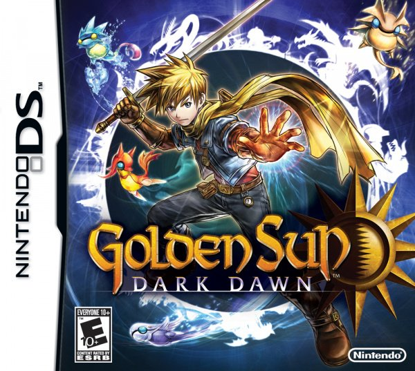 Golden Sun: Dark Dawn Cover Artwork