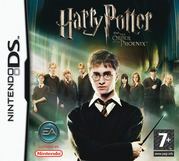 Harry Potter and the Order of the Phoenix Cover Artwork