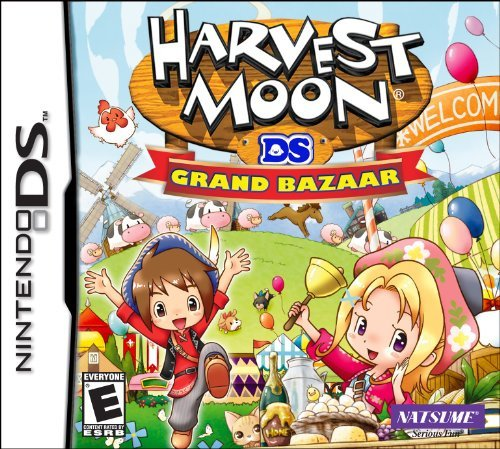 Harvest Moon DS: Grand Bazaar Cover Artwork